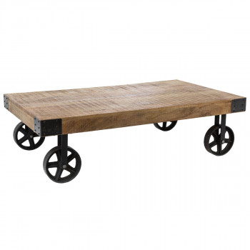 Table Basse Roue