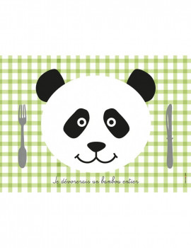 Set de Table Panda