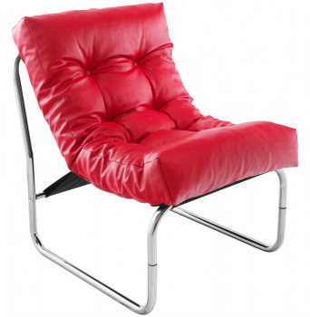 Fauteuil Lounge Rouge