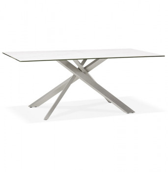 Table Majestueuse Argent