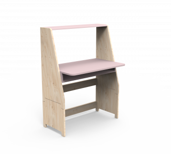 Bureau Tablette Rose