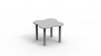 Table Basse de Jeux Gris