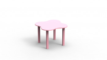 Table Basse de Jeux Rose