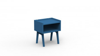 Table de Chevet Bleu