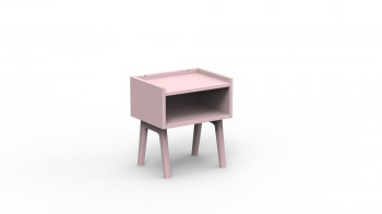 Table de Chevet Rose Clair