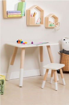 Ensemble Table et Tabouret Enfant