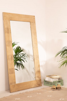 Miroir Rectangle en Bois