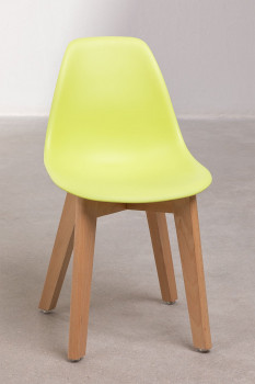 Chaise Enfant Scandinave Jaune