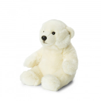 Peluche Ours Polaire 27 cm
